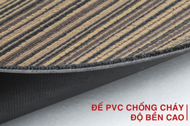 Thảm tấm đế cao su chống cháy
