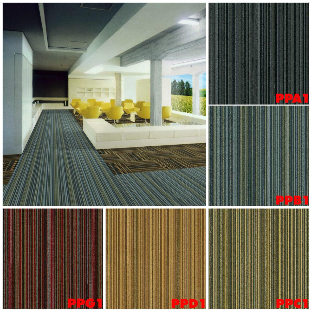 Thảm tấm văn phòng A1 B1 C1 D1 - Thảm tấm Standard