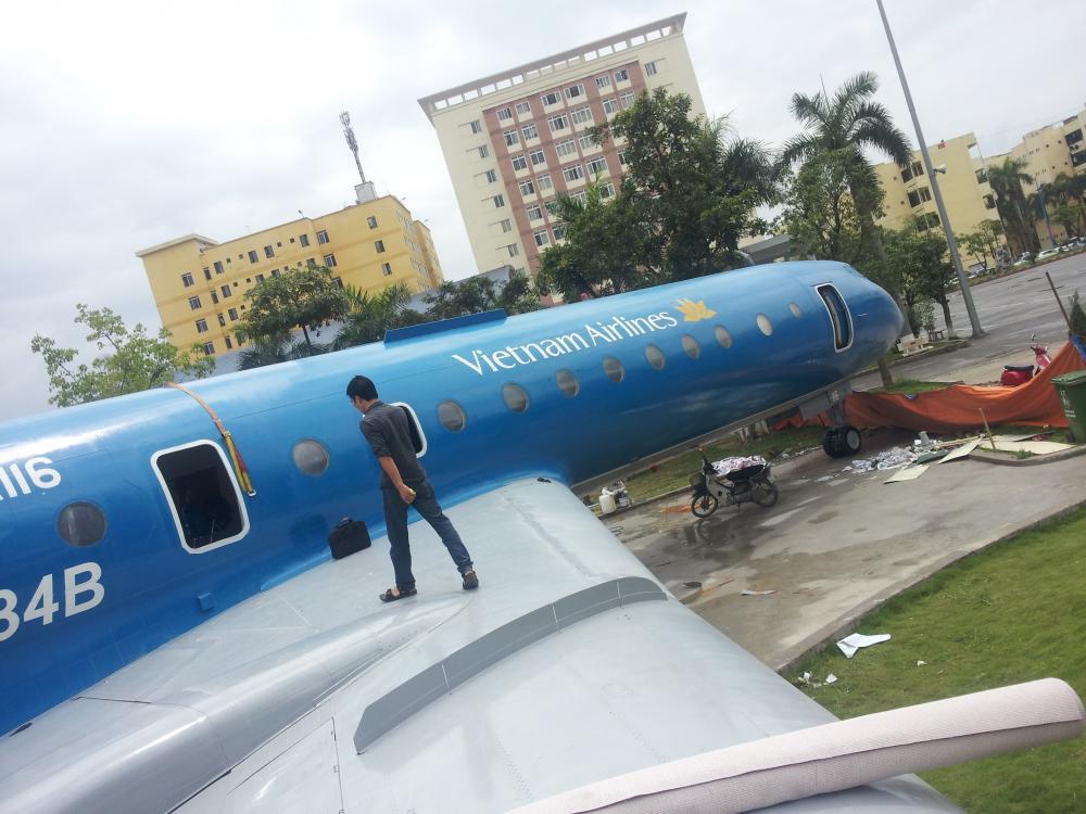 Thảm trải sàn tại Vietnam Airlines
