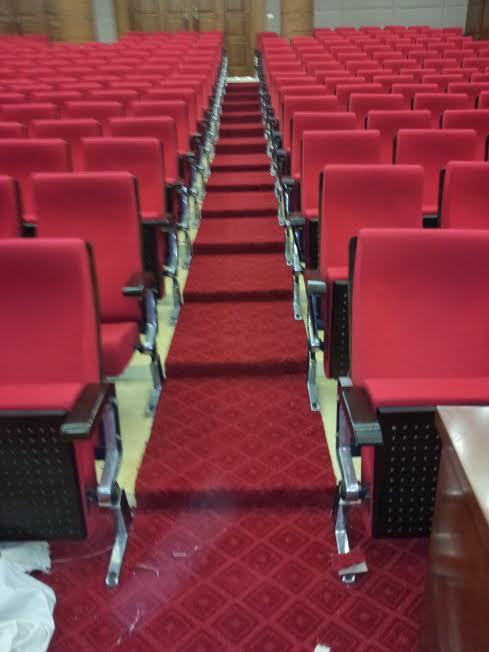 Thảm trải sàn đỏ đẹp cho các công trình hội nghị