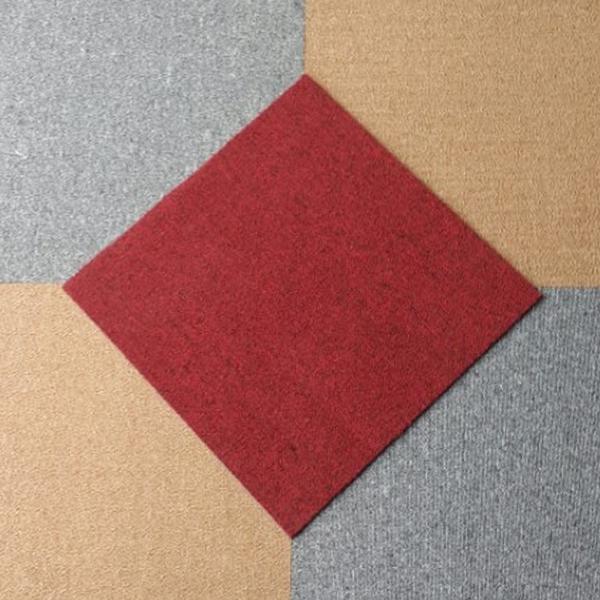 Thảm tấm vàng - ghi - đỏ