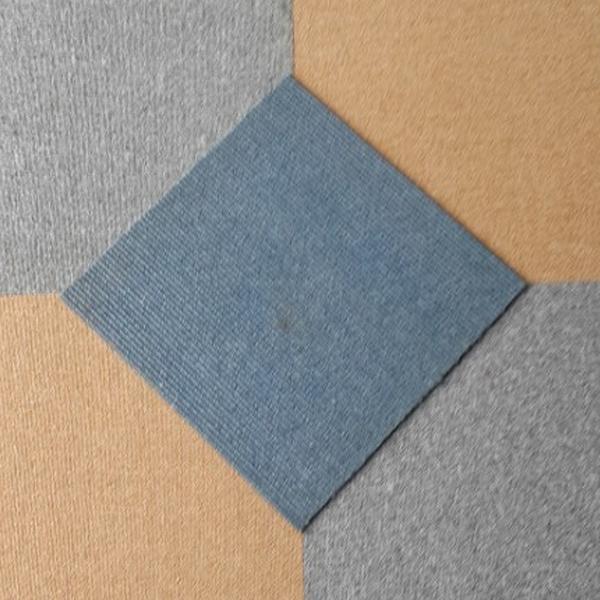 Thảm tấm ghép màu hài hòa