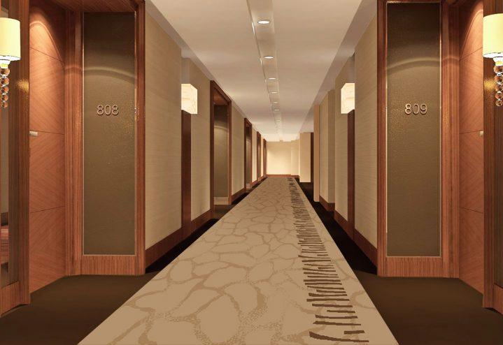 Gợi ý loại thảm khách sạn cho khu vực hành lang